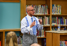 Dr. Hasan Kwame Jeffries Talks Racism With School Community