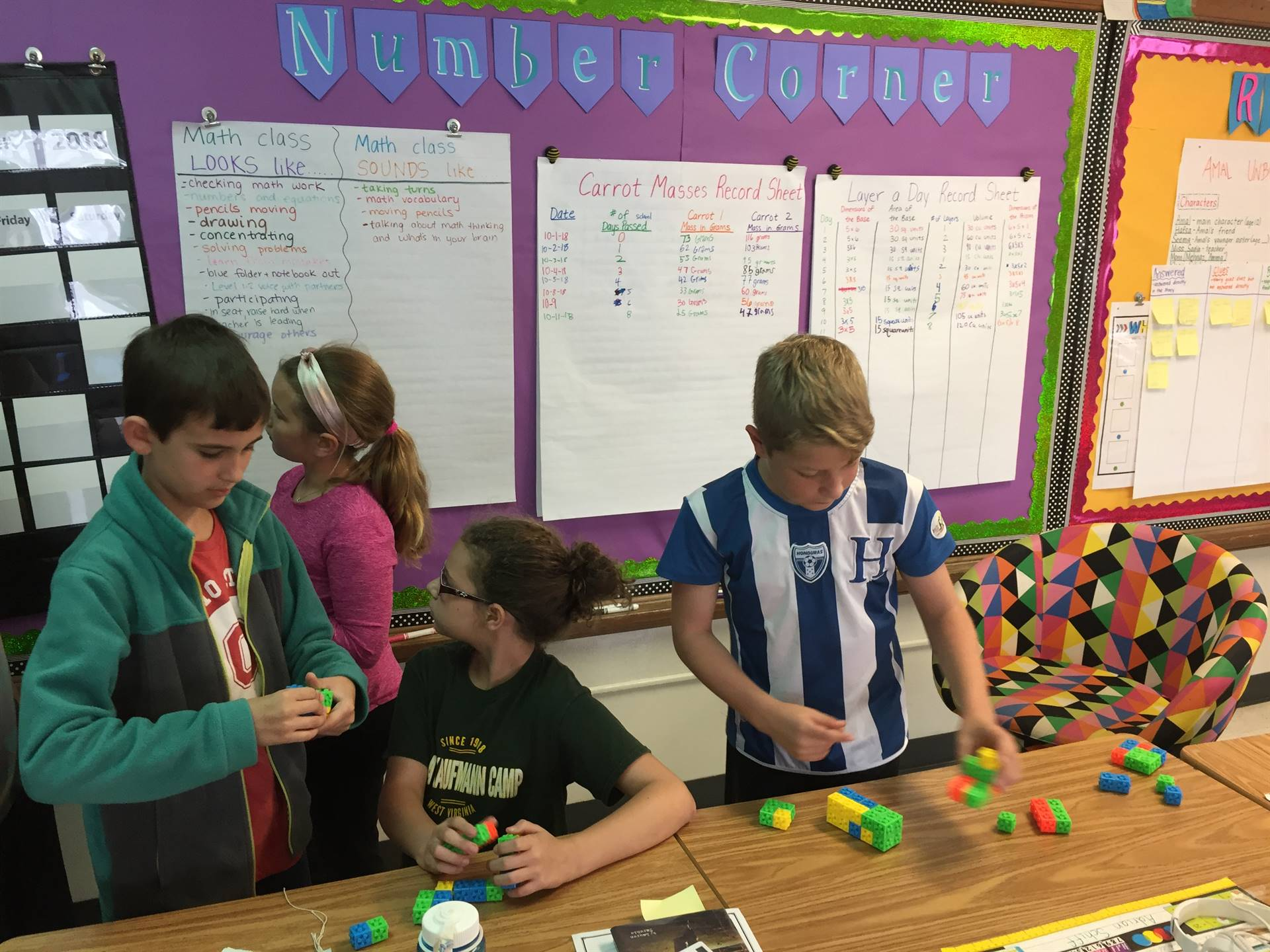 Students build to confirm their visual predictions