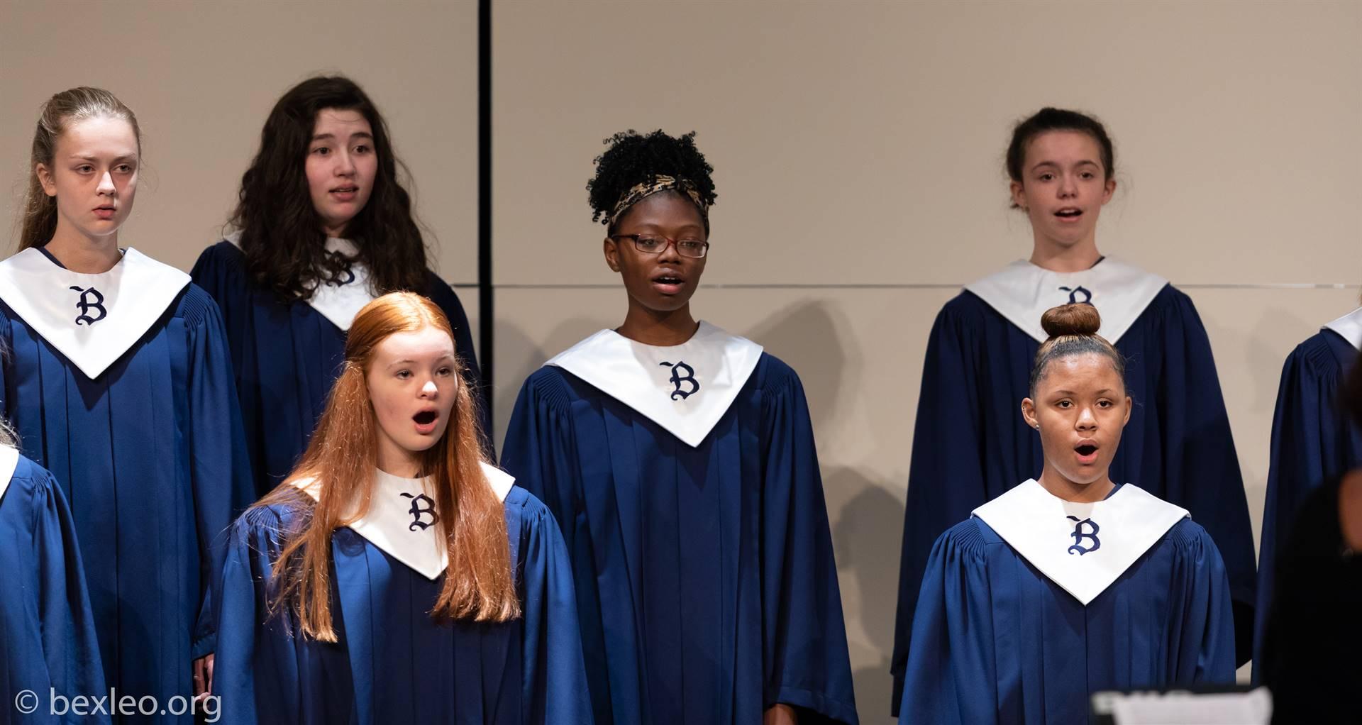 Womens Glee performs @ Fall Choir Concert