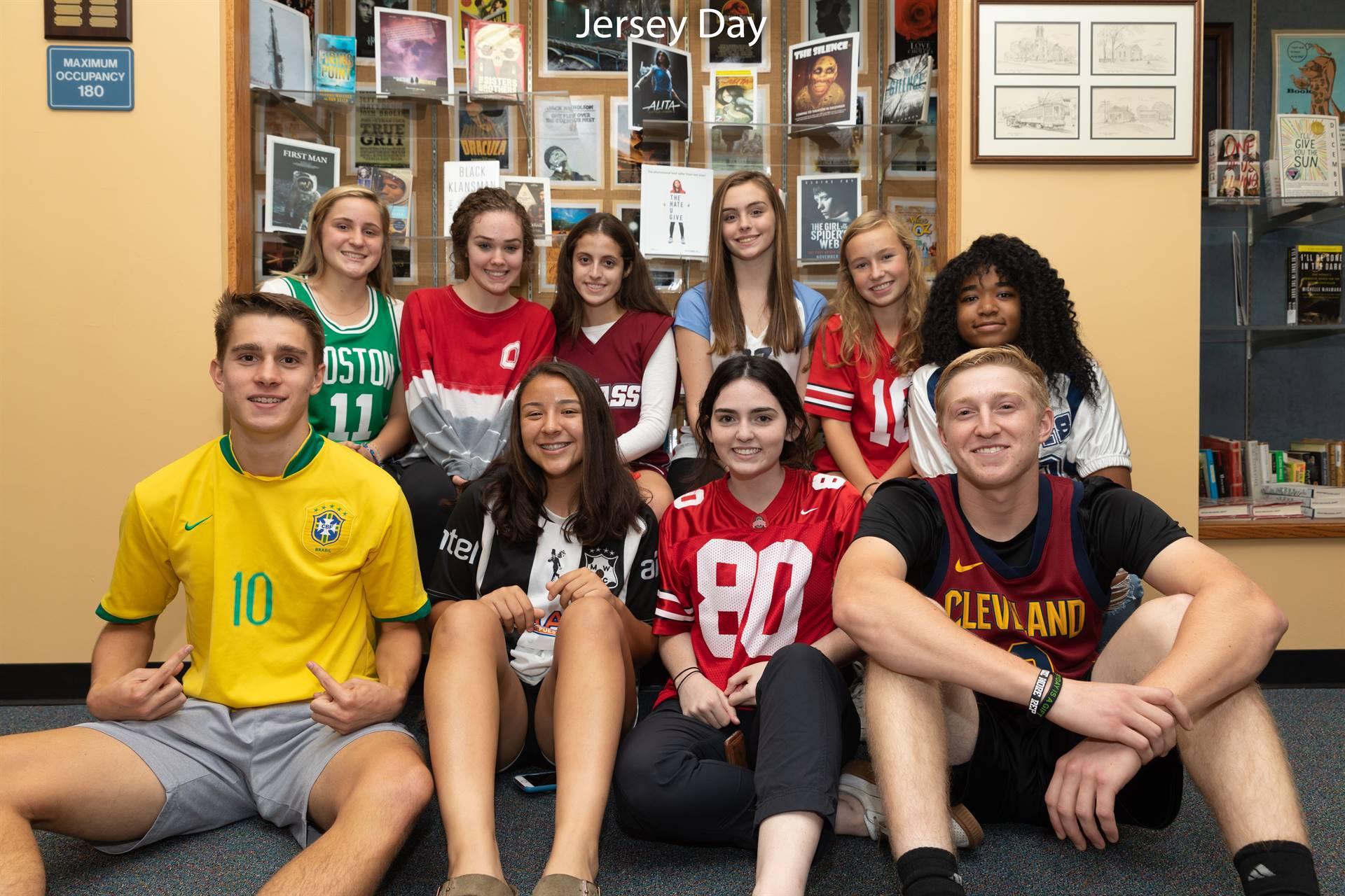 Spirit Week--Jersey Day