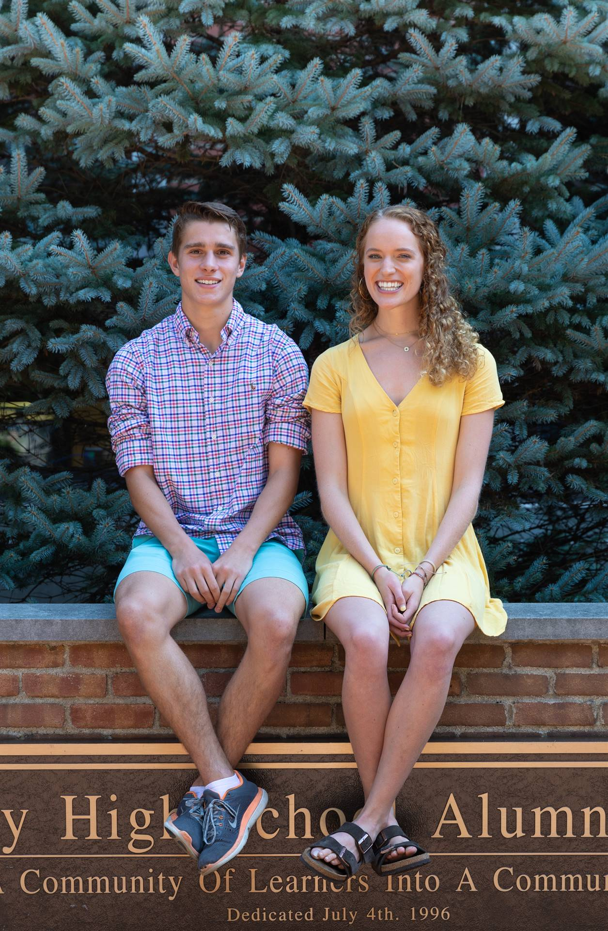 Congratulations to Anna Politi and Grant Halliday, who were named Semifinalists in the National Meri