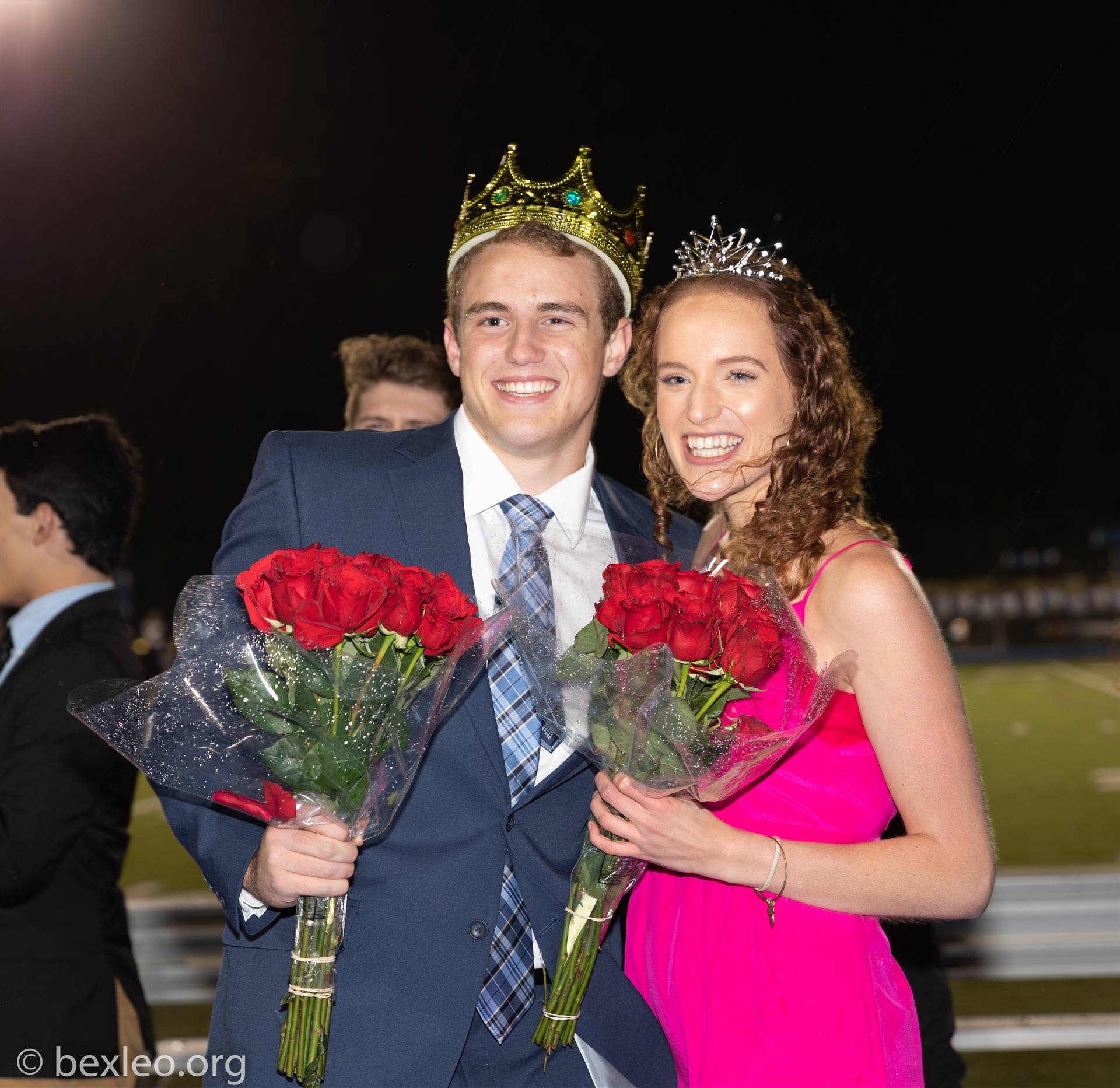 Homecoming King and Queen Ryan Callahan & Annie Politie