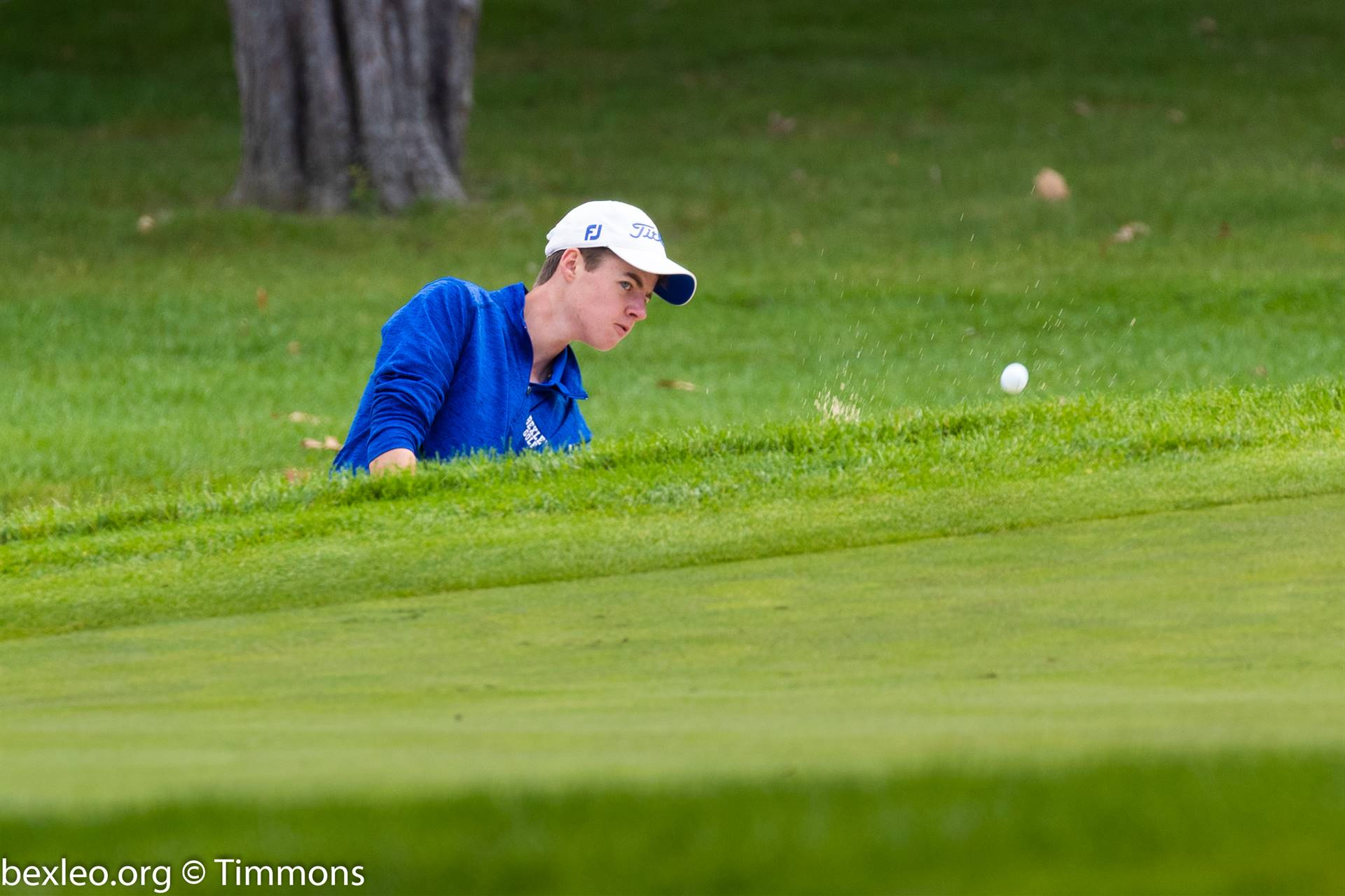Senior Trevor Binau won his second individual state golf title Oct. 12-13 at the OSU Scarlet Course.