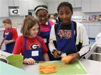 Students in Cooking Class