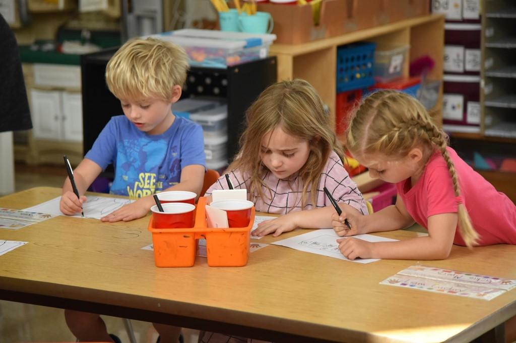 Maryland students writing