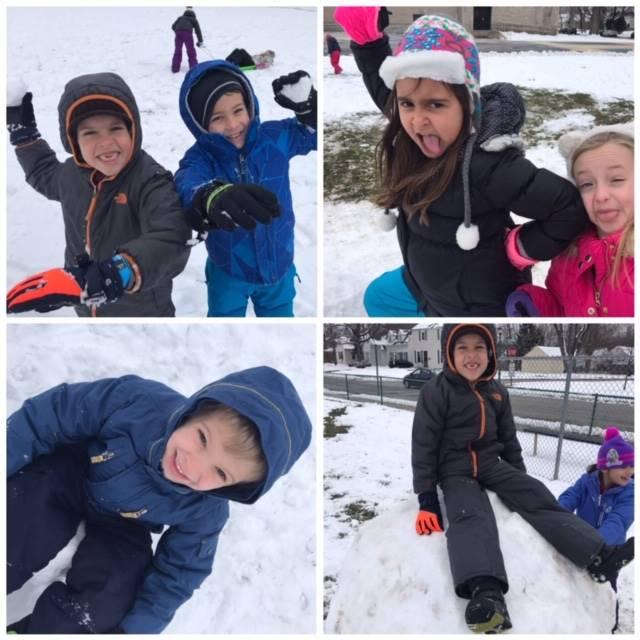 Silly Snow Kids