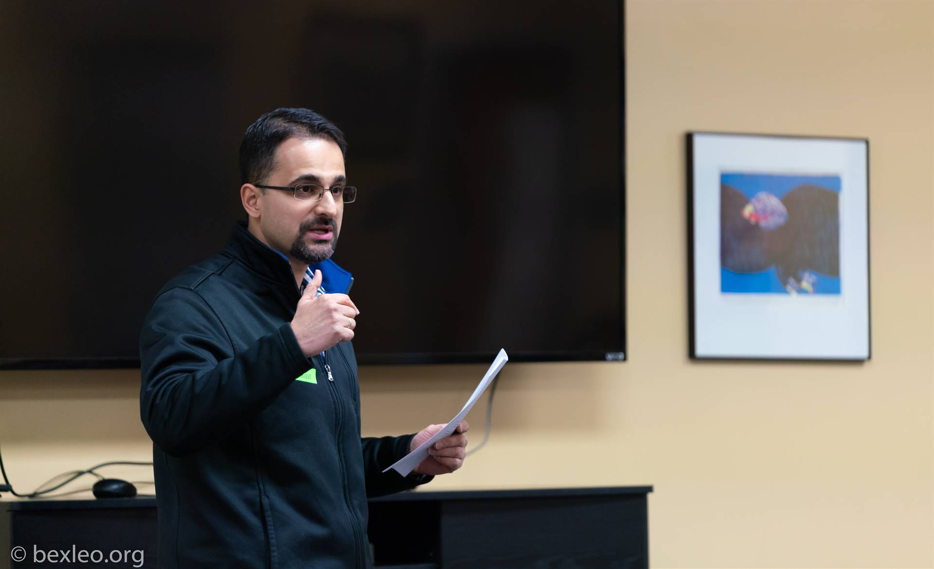 Radiologist and Former Poet Laureate of Ohio Amit Majmudar conducts a Poetry Writing Workshop @ BHS