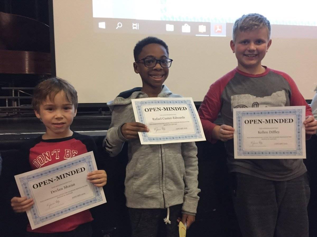 Learner Profile Award Winners