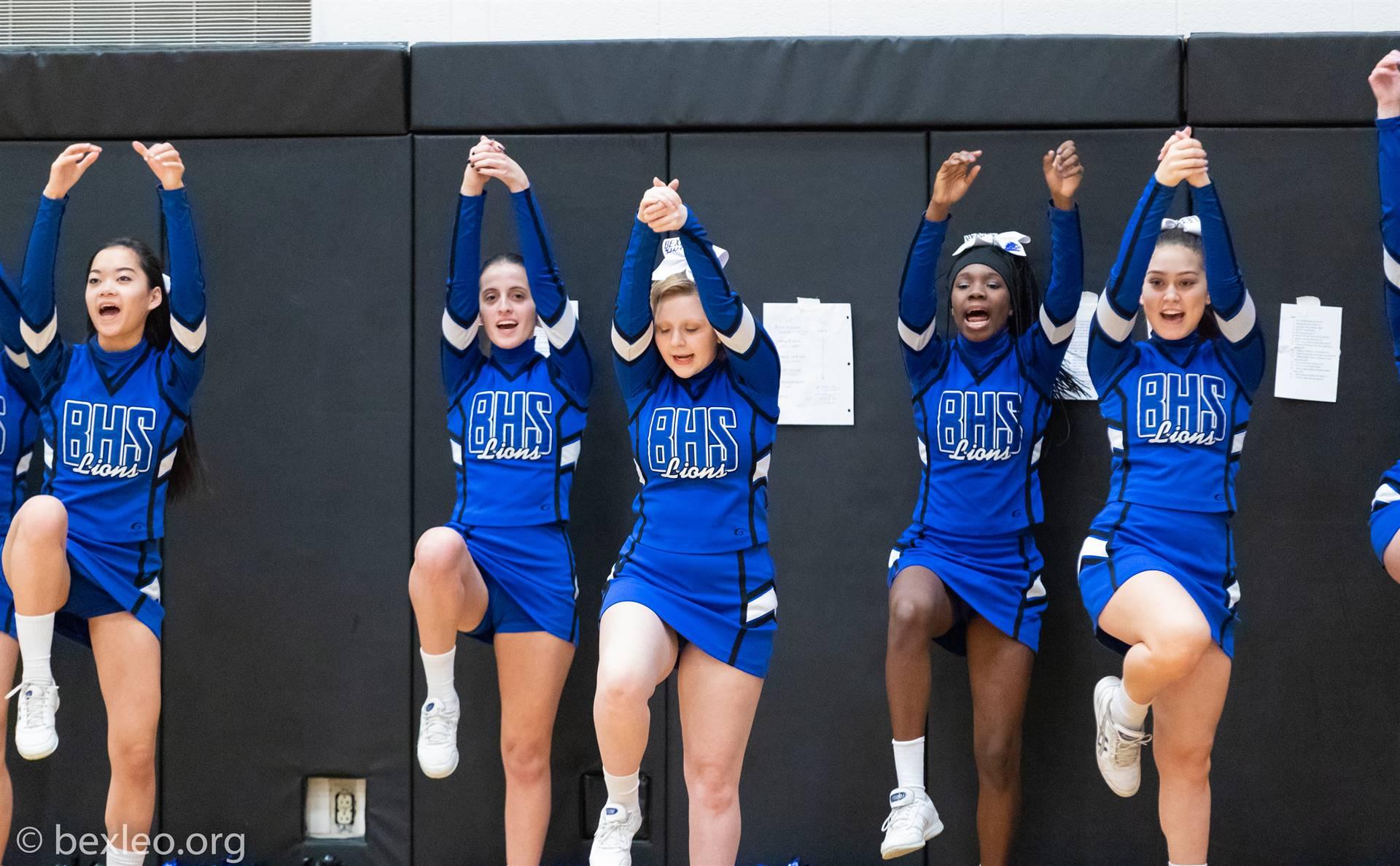 Bexley High School Varsity Cheerleaders