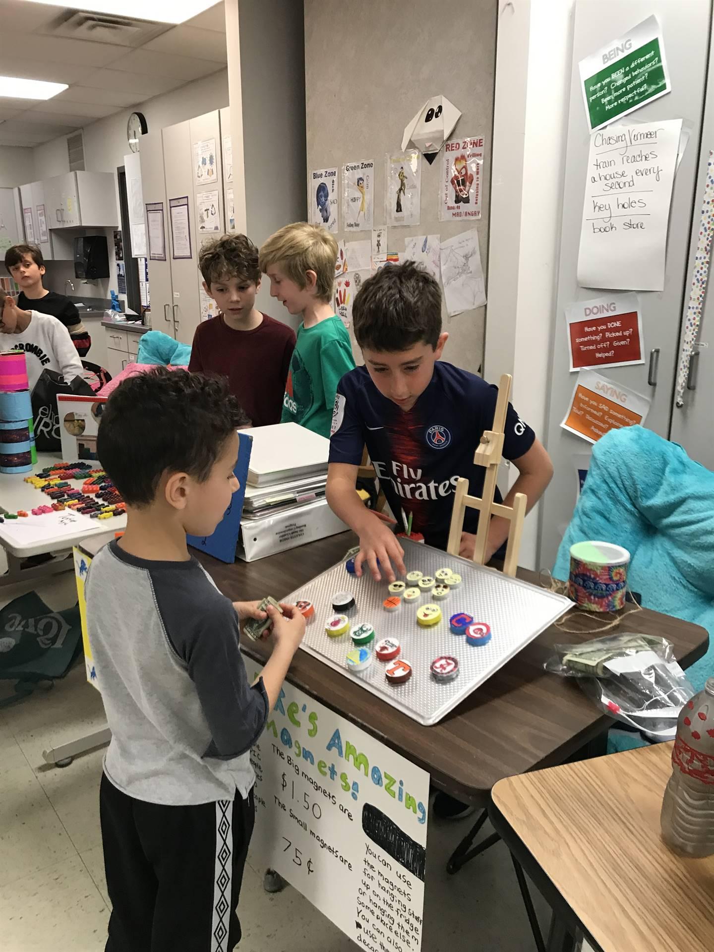 4th Grade Market