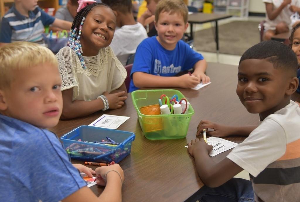 Montrose second graders