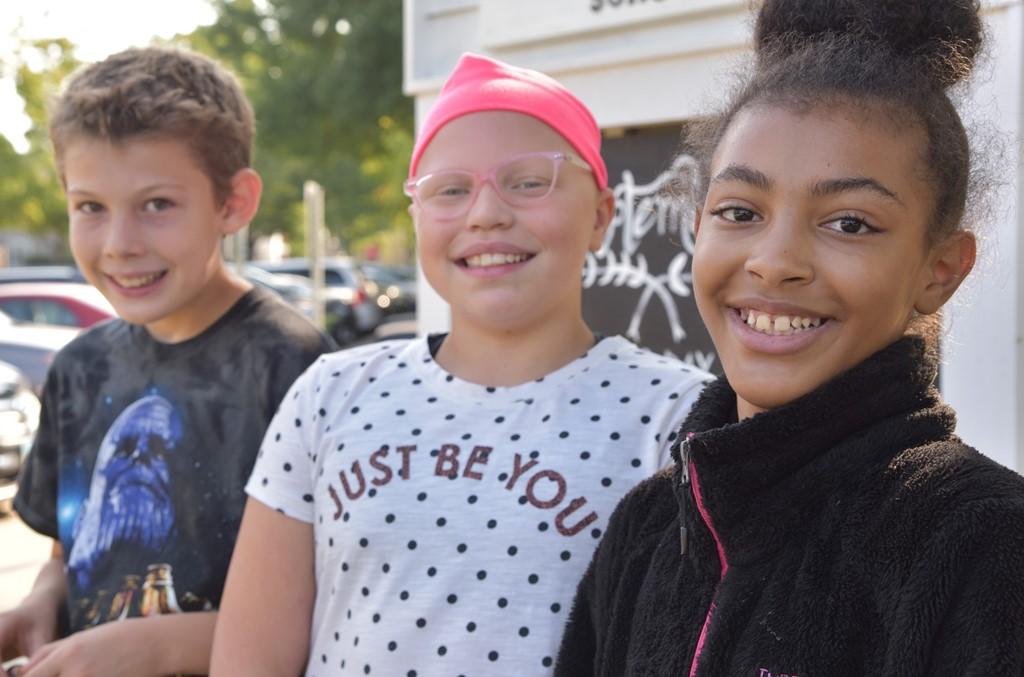 Cassingham fifth graders