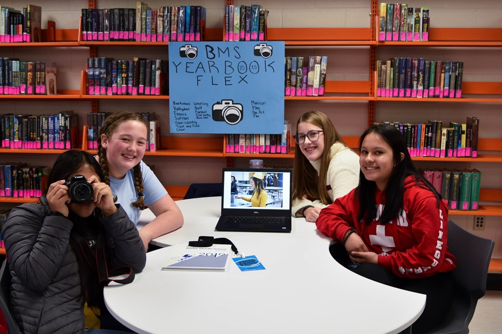 BMS Yearbook Club