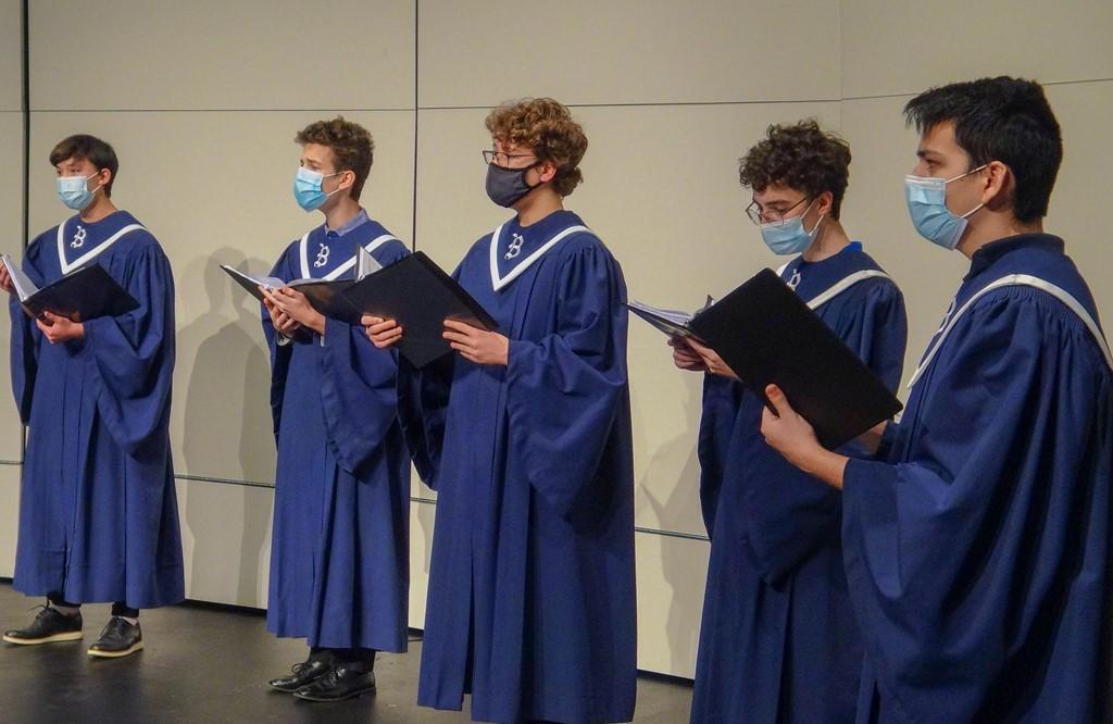 boy high school choir