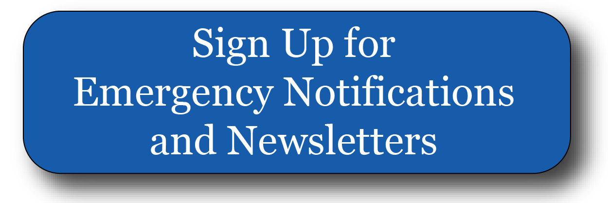 Alerts, Emergency Updates, & E-Newsletter Sign Up